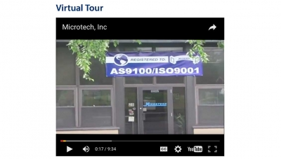 Microtech offers virtual tour of the factory.