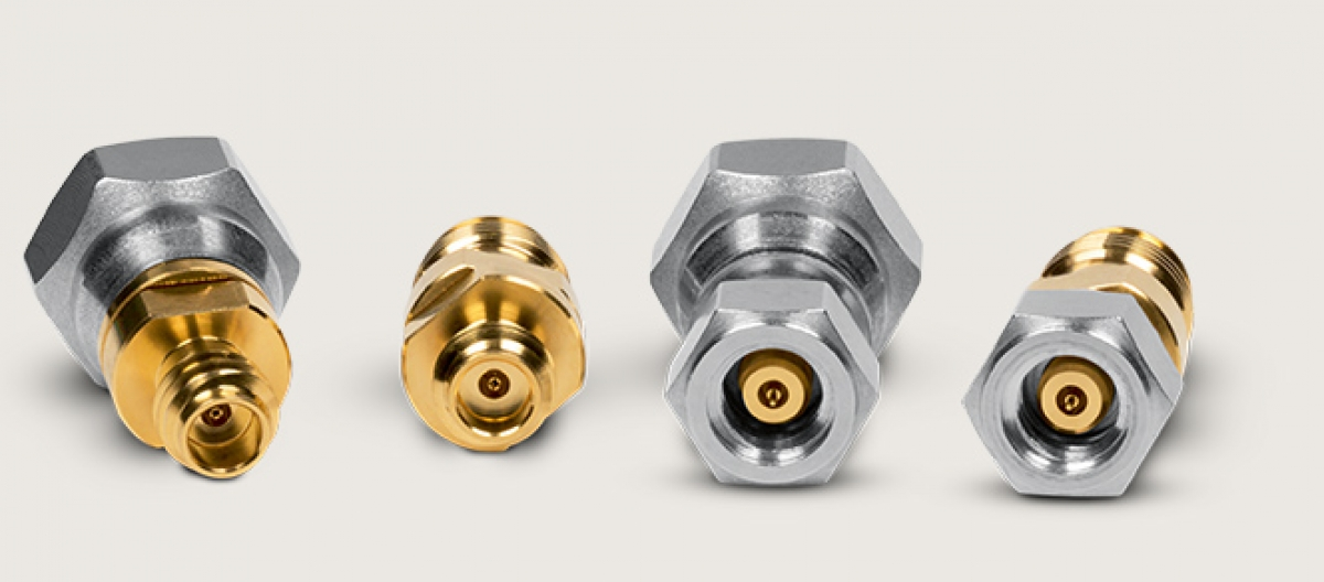 New RF Connector for DC - 90 GHz